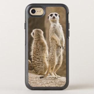 Eine Familie von Meerkats: Vater, Mutter und Baby OtterBox Symmetry iPhone 8/7 Hülle