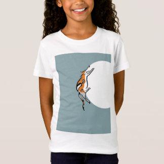 Eine faule fette Tricolor lustige Katze T-Shirt