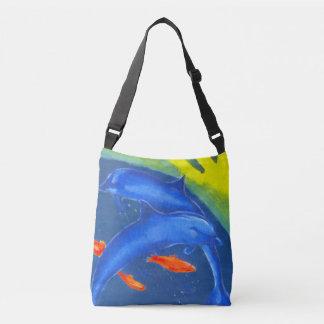 Eine feine bunte Taschen-Tasche Tragetaschen Mit Langen Trägern