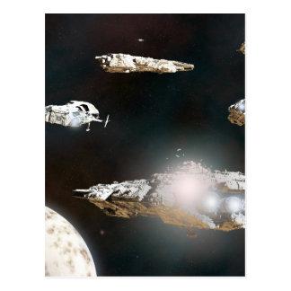 Eine Flotten-Aktion Postkarte