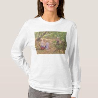 Eine Girlande der Blumen, 19. Jahrhundert T-Shirt