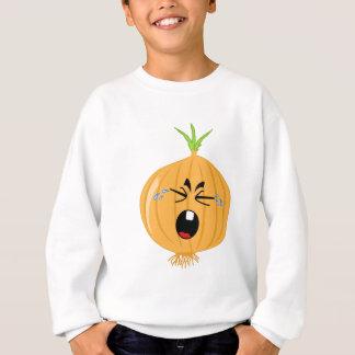 Eine große schreiende Zwiebel Sweatshirt
