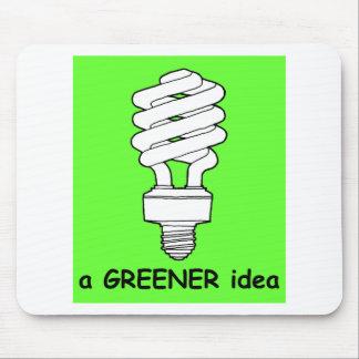 Eine grünere Idee Mauspad