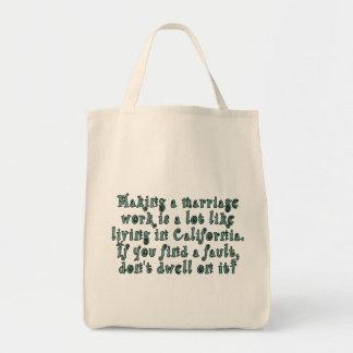 Eine Heiratarbeit zu machen ist viel wie… Einkaufstasche