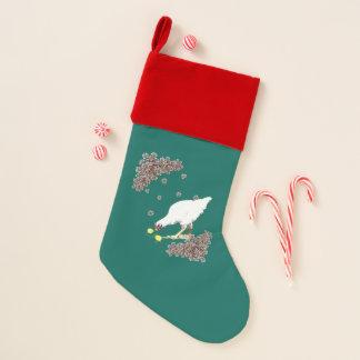 eine Henne und Küken Weihnachtsstrumpf