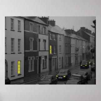 Eine irische Ansicht Poster