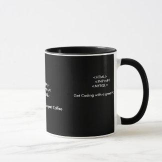Eine Kaffeetasse für Web-Entwickler