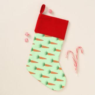 Eine Karotte für Weihnachtsren-Luxus-Strumpf Weihnachtsstrumpf