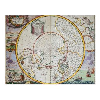 Eine Karte des Nordpols