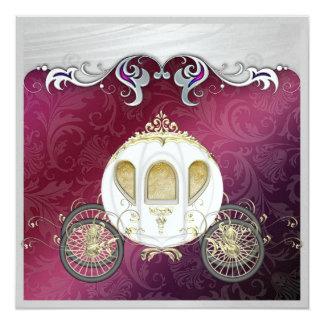 Eine königliche Ereignis-Einladung Karte