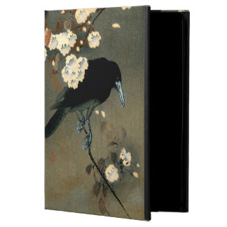 Eine Krähe und eine Blüte durch Ohara Koson Vintag