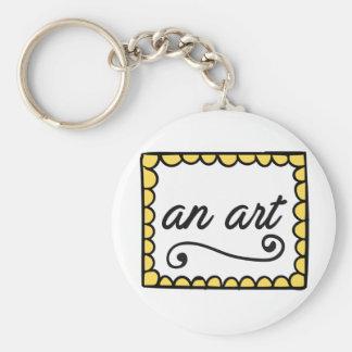 Eine Kunst Keychain Schlüsselanhänger