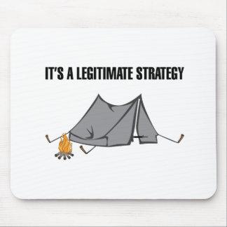 Eine legitime Strategie Mauspad