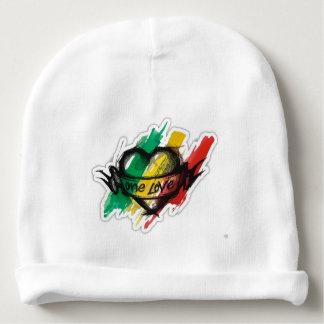 eine Liebe rasta Reggae Graffitiflagge Babymütze