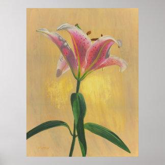 Eine Lilie - Poster