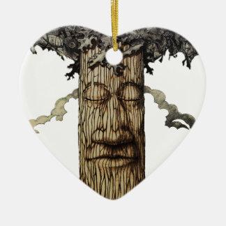 Eine mächtige Baum-Abdeckung Keramik Ornament
