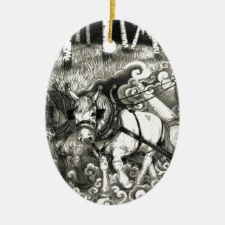 Eine MÄCHTIGE BAUM Seite 14 Orig. Keramik Ornament