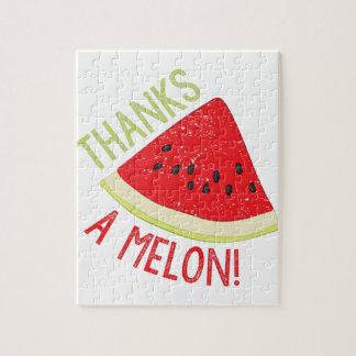 Eine Melone Puzzle