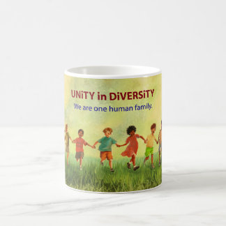 Eine menschliche Familie Kaffeetasse