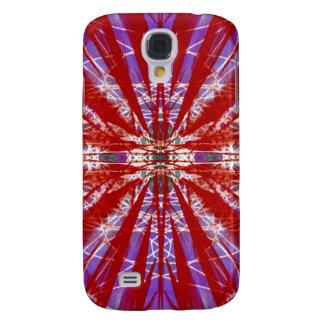 eine moderne gefärbte Krawatte Galaxy S4 Hülle