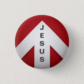Eine Möglichkeit - Jesus Runder Button 2,5 Cm