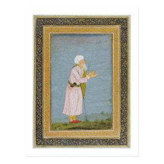 Eine moslemische religiöse Figur, vom kleinen Postkarte