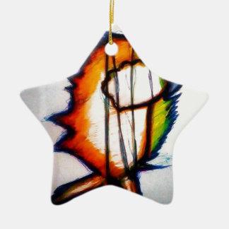Eine Musik, die Sie euch fühlen und sehen können Keramik Ornament