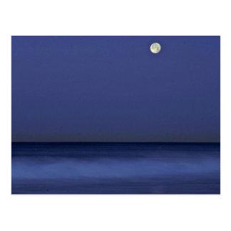 Eine Nacht in dem Meer Postkarte