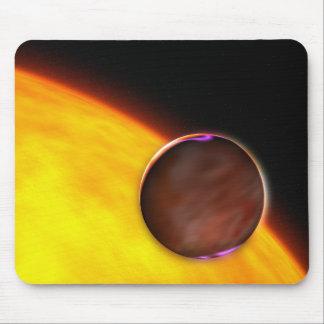 Eine Nahaufnahme eines extrasolar Planeten Mousepad