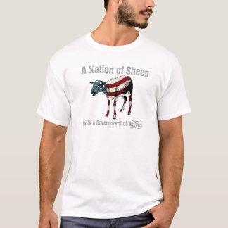 Eine Nation des Schaf-T - Shirt