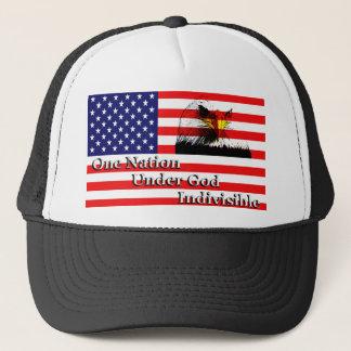 Eine Nation, unter dem Gott, unteilbar Truckerkappe