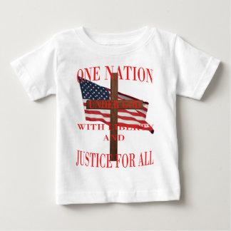Eine Nation unter Gott Baby T-shirt