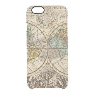 Eine neue Karte der ganzen Welt mit Durchsichtige iPhone 6/6S Hülle