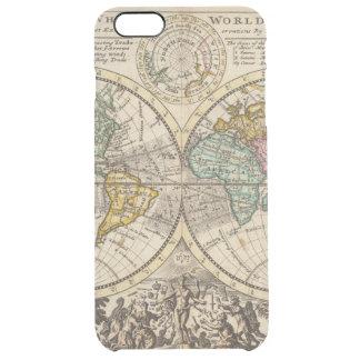 Eine neue Karte der ganzen Welt mit Durchsichtige iPhone 6 Plus Hülle