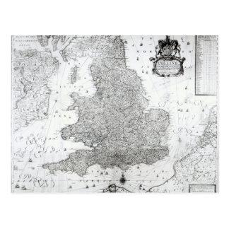 Eine neue Karte des Königreiches von England