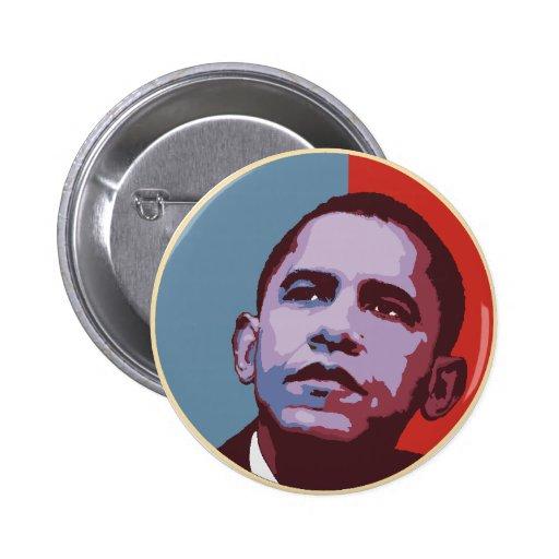 Eine neue Mehrheit - politischer Knopf Obama Anstecknadel