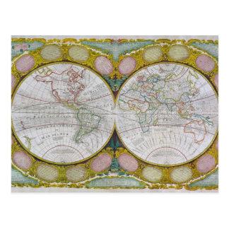 Eine neue und korrekte Karte der Welt, 1770-97