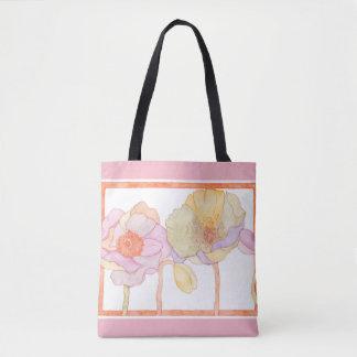 Eine niedliche Blumen-ähnliche Taschentasche Tasche