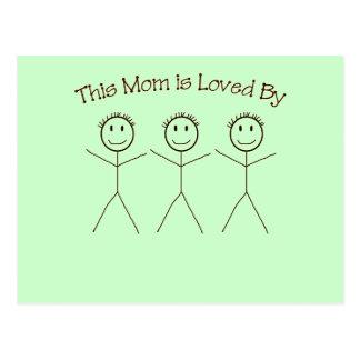 Eine Postkarte für Mamma