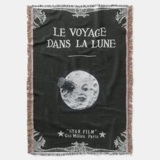 Eine Reise zu den Mond-Retro Film-Plakat-Franzosen Decke
