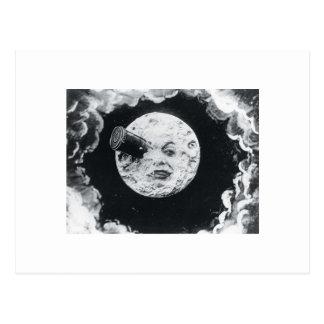 Eine Reise zum Mond 1902 Postkarte