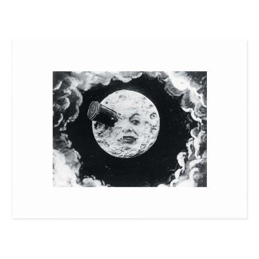 Eine Reise zum Mond 1902 Postkarten