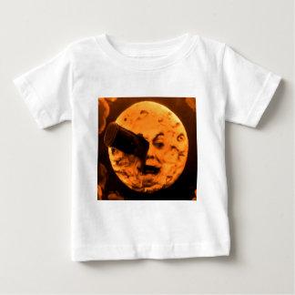 Eine Reise zum Mond (BlutorangeSepia) Baby T-shirt