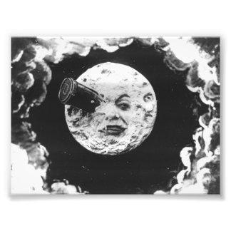 Eine Reise zum Mond Fotodruck