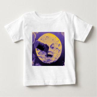 Eine Reise zum Mond (lila Fizzy Fäserchen) Baby T-shirt