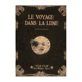 Eine Reise zum Mond oder zum Le Voyage dans La Foto Korkpapier