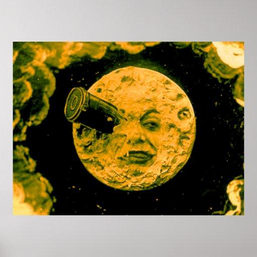 Eine Reise zum Mond Posterdruck