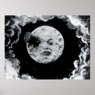 Eine Reise zum Mond Posterdrucke