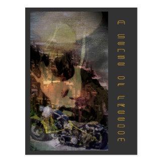 Eine Richtung der Freiheit Postkarte