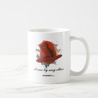 Eine Rose durch irgendein anderes Namens… Tasse